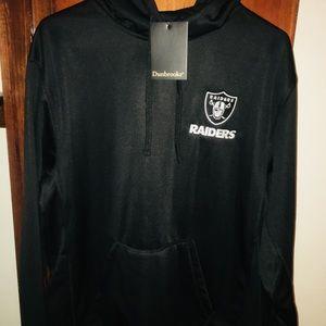 official photos dd6d0 47ca8 Dunbrooke NFL Craftsman Hoodie Oakland Raiders NWT